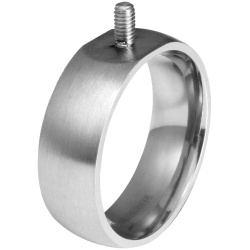 Basis Edel metaal ring 18