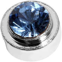 Top blue diamond