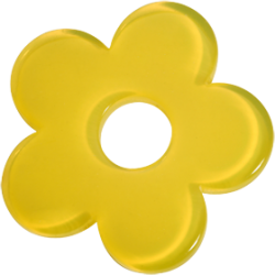 Acrylic yello flower