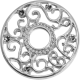 Zilver rond wit
